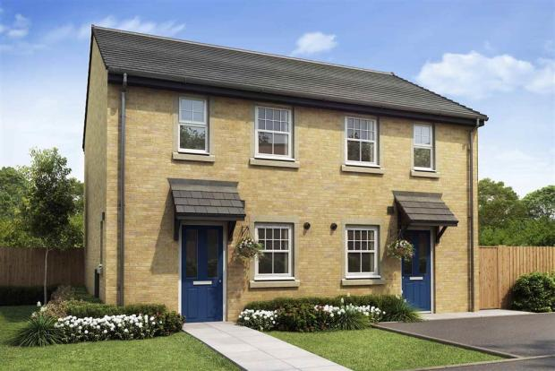 Artist impression of The Beckford (Buff Brick) at Tootle Green