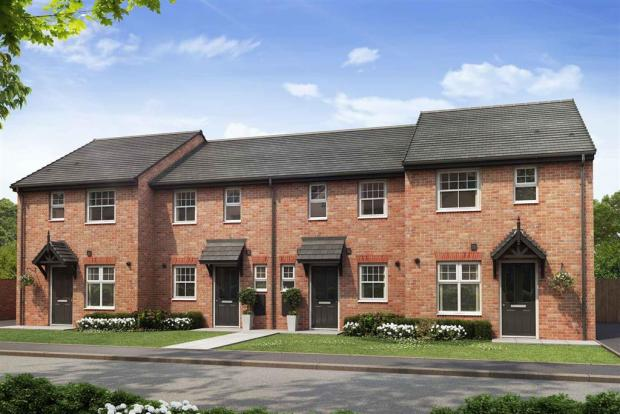 Artist impression of The Beckford (Red Brick) at Tootle Green