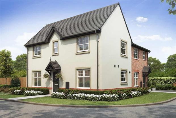 Artist impression of The Milldale (Render) at Tootle Green