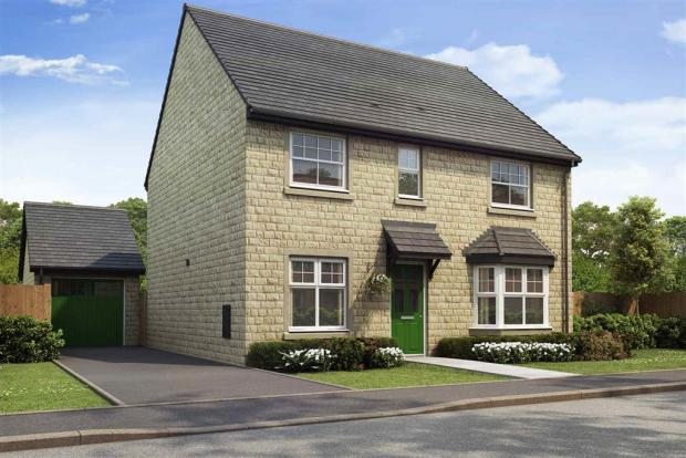 Artist impression of The Shelford (Stone) at Tootle Green