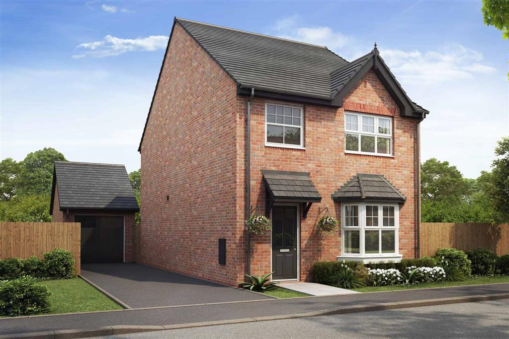 Artist impression of The Lydford (Red Brick) at Tootle Green