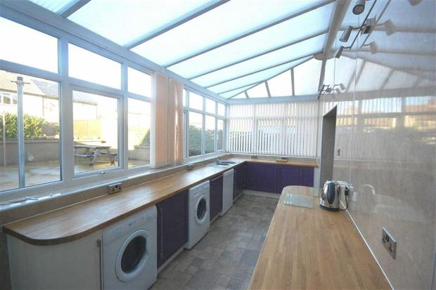 Extended Kitchen Are