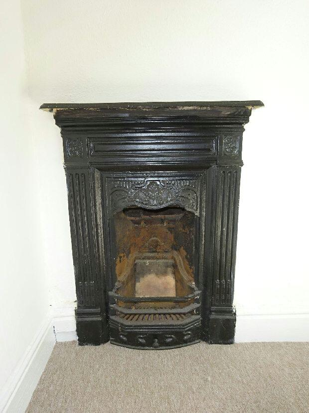 Bedroom 3 Fireplace