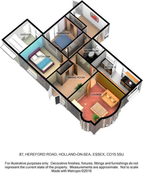 87 HEREFORD ROAD 3D