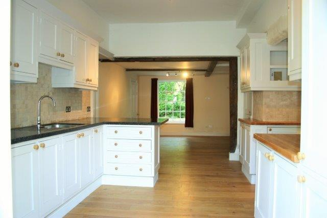 Kitchen to dining ro