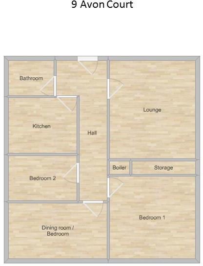 9 Avon Court - Floor