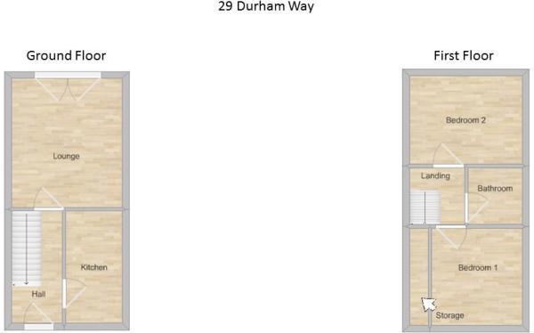 29 Durham Way - Floo