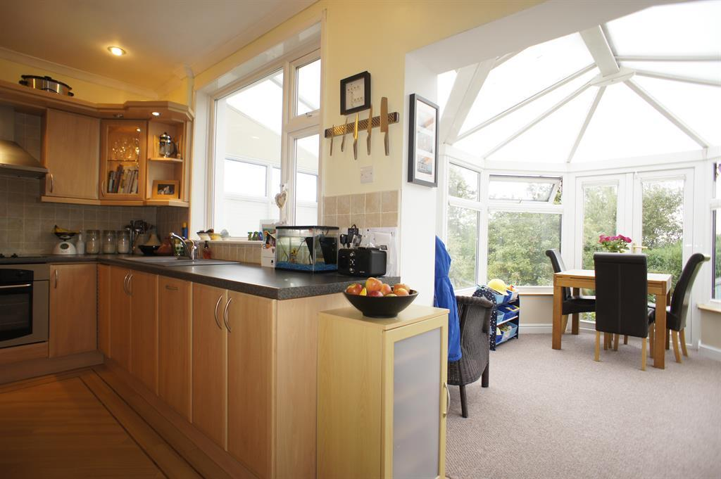 KITCHEN AND CONSERVATORY