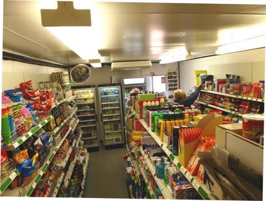 Kitchenette / storage area