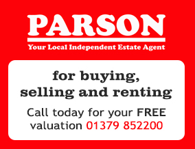 Get brand editions for Parson Estate Agents, Harleston