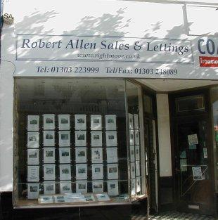 Robert Allen Sales & Lettings, Folkestonebranch details