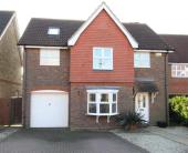 Detached property for sale in Bramley Way, Kings Hill