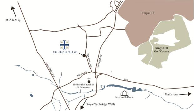 Location Map church.