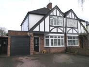 semi detached house in Waverley Avenue, Whitton...