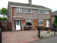 semi detached home in 79  Blantyre Crescent...