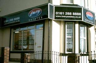 Lowry Estates Ltd, Manchesterbranch details