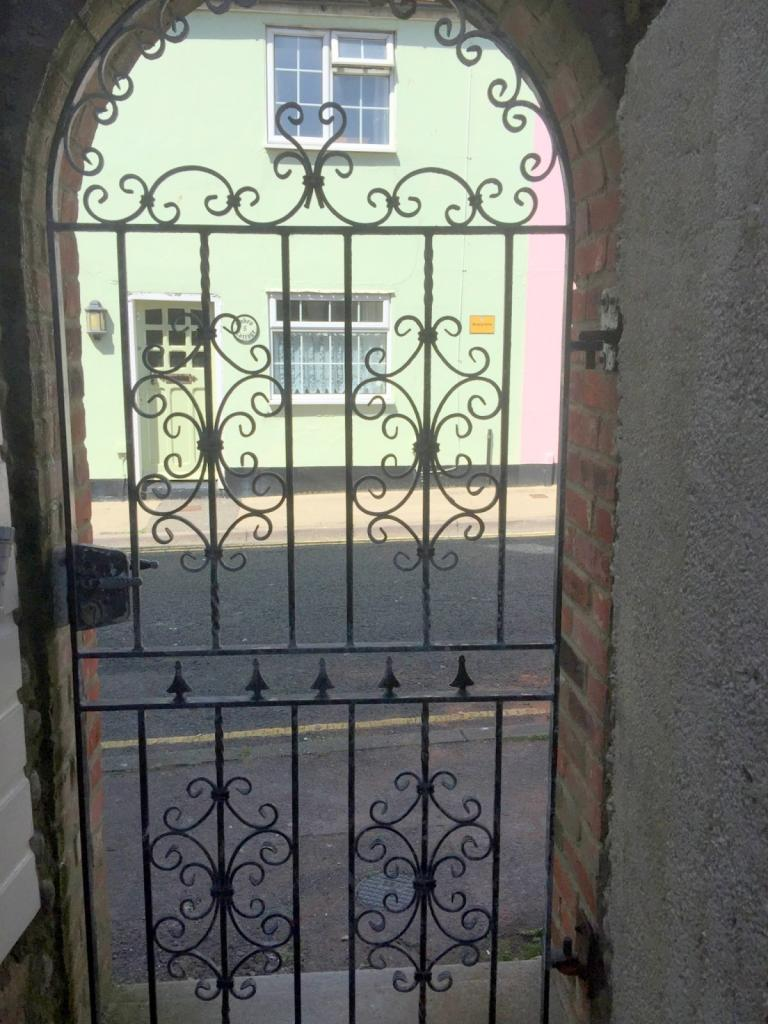 Side gate access to