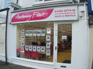 Anthony Flint, Llandudno -Lettingsbranch details