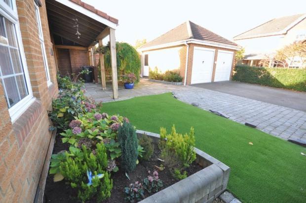 Front Garden &...