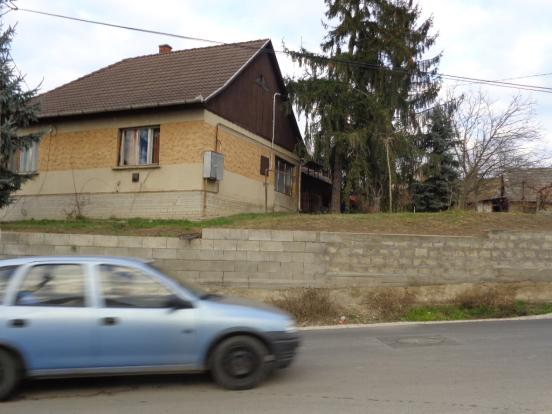 Side of house.Street