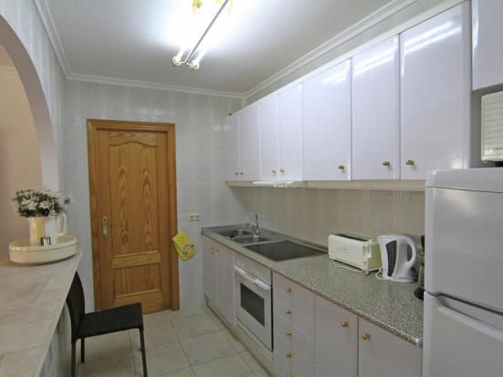 Villa in Benissa, Kitchen