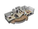 Luxury Villa in Benissa, 3D Plan
