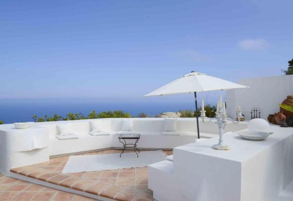 Luxury House in Cumbre del Sol, terrace
