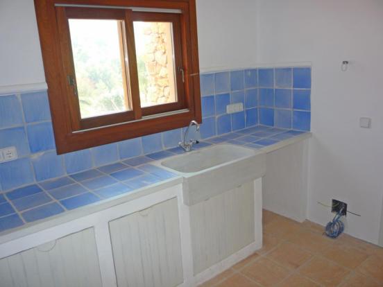 Villa in Moraira, Kitchen