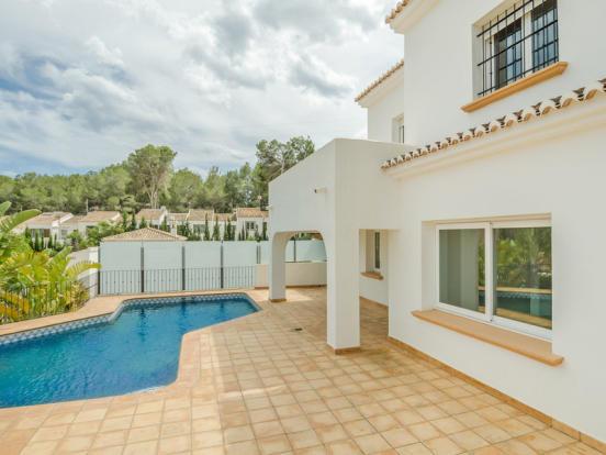 Ibiza Style Villa in Moraira, Terrace