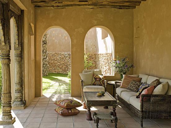 Villa in Moraira, Terrace