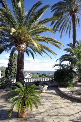 Luxury Property in Benissa, views
