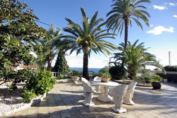Luxury Property in Benissa, terrace