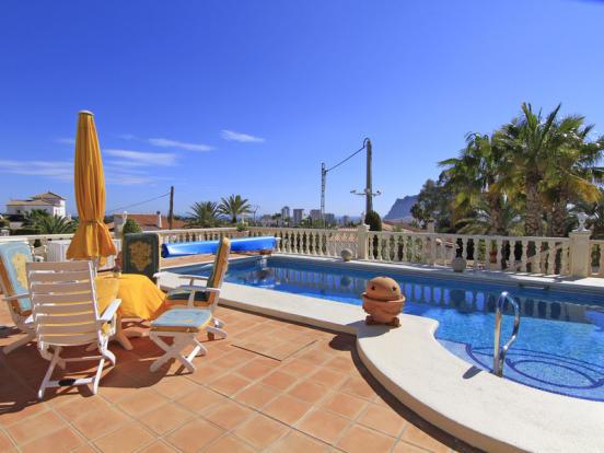 Luxury Villa in Calpe, Terrace