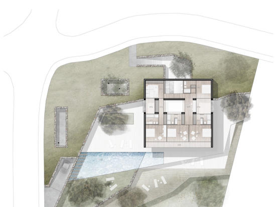 Luxury Villa in Benissa, Plan