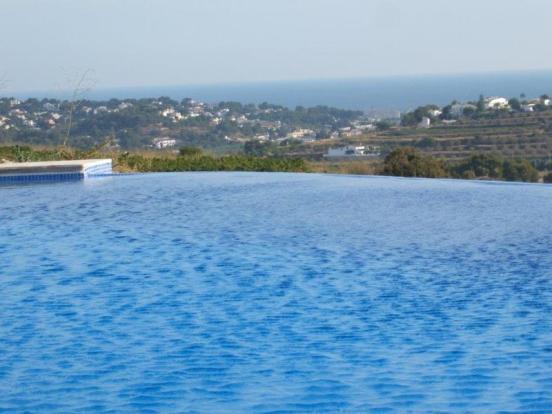 Luxury Finca in Moraira, views