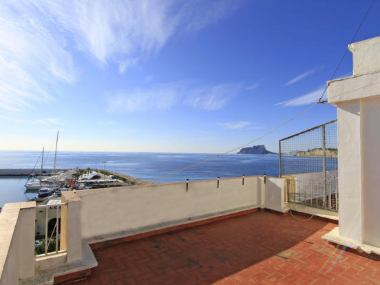 Duplex Penthouse in Moraira, views