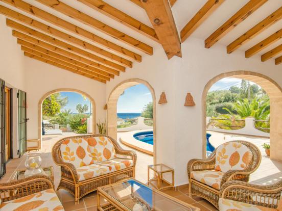 Luxury Villa in Benissa, Terrace