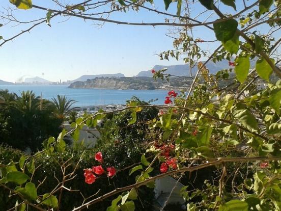 Luxury property in Moraira, views