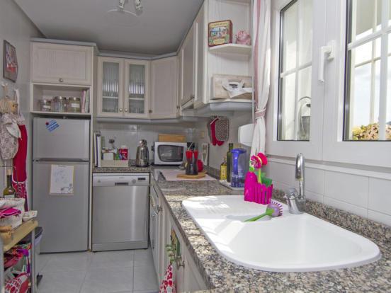 Apartment in Moraira, Kitchen