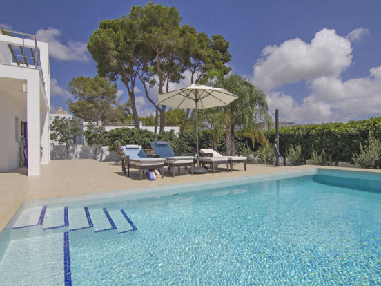 Modern Luxury Villa in Moraira, Pool