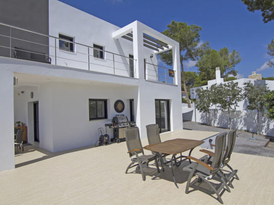 Modern Luxury Villa in Moraira, Terrace