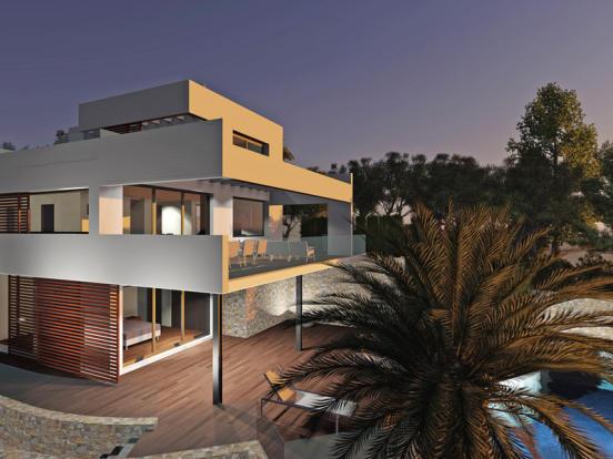 First Line Luxury Villa in Moraira, Villa