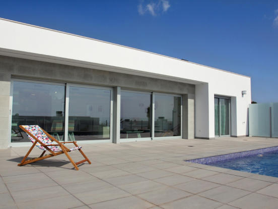 Luxury House in Cumbre del Sol, Terrace