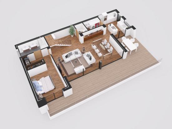 Luxury Villa in Cumbre del Sol, Plan