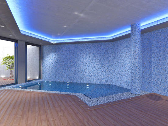 Modern Luxury Villa in El Portet de Moraira, Interior Swimming Pool