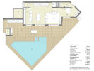 Modern Luxury Villa in El Portet de Moraira, Plan
