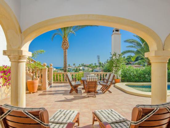 Luxury Villa in Moraira, Terrace