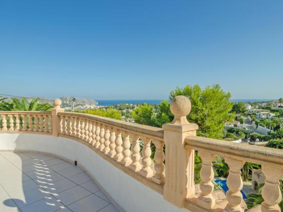 Luxury Villa in Moraira, Views