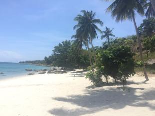 new development in San Vicente, Palawan