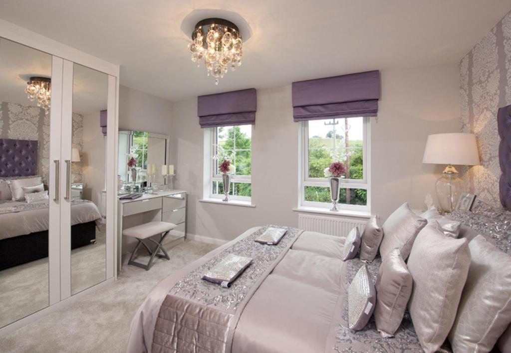 Helmsley master bedroom